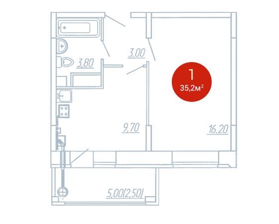 Квартира №76