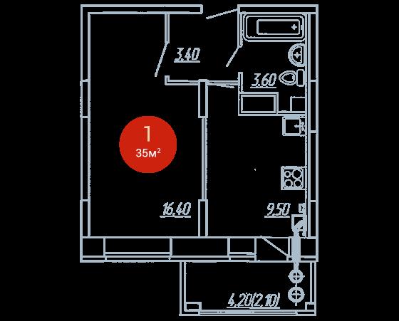 Квартира №264