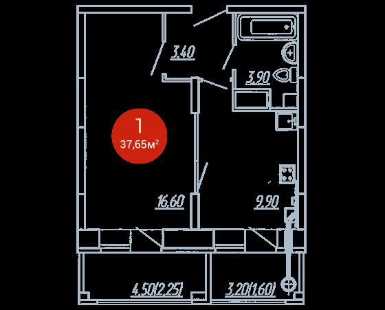 Квартира №275