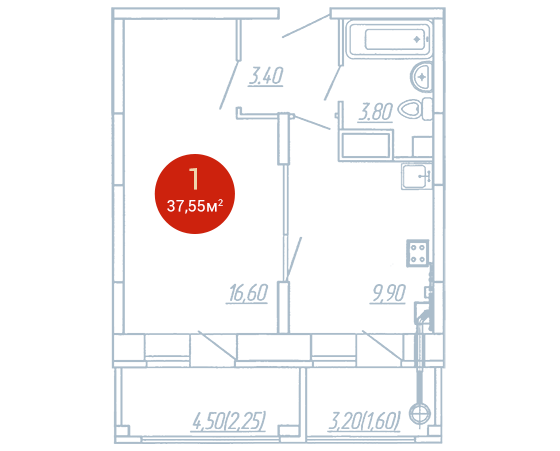 Квартира №290