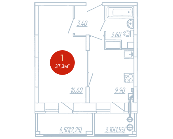 Квартира №265