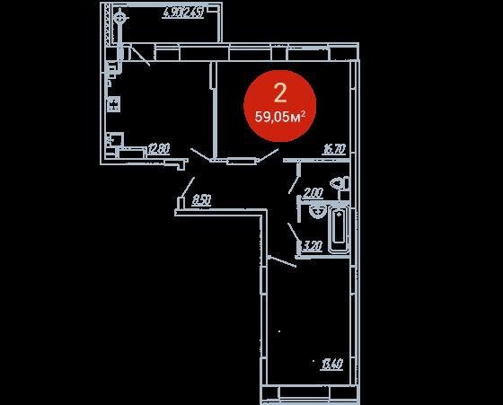 Квартира №287