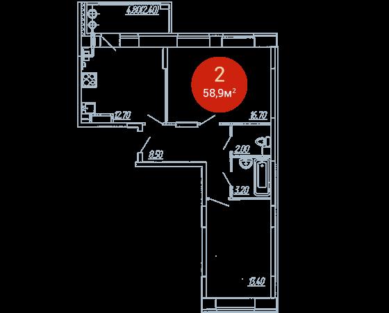Квартира №262
