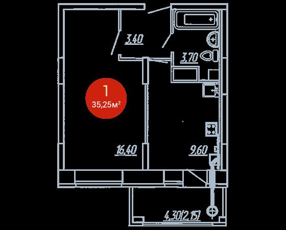 Квартира №364
