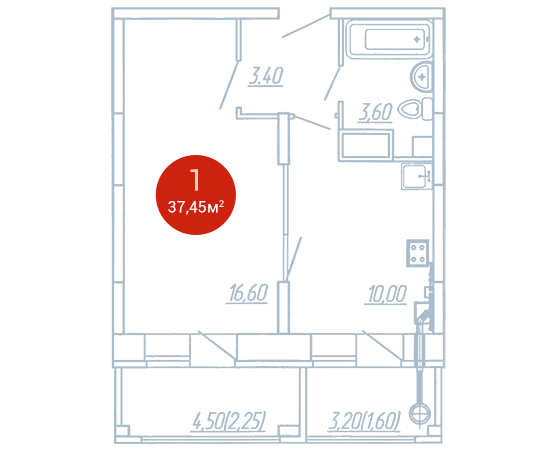 Квартира №375