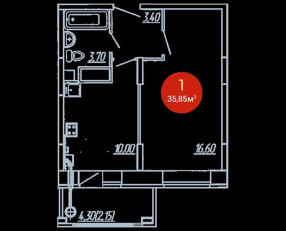 Квартира №356