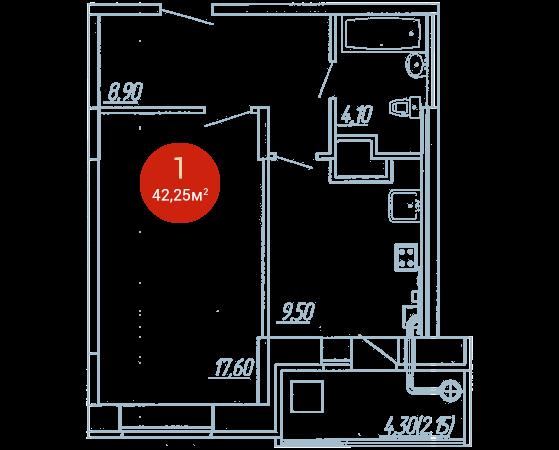 Квартира №104