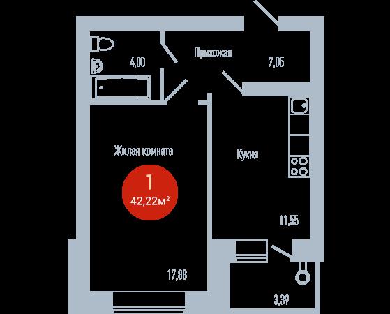 Квартира №107