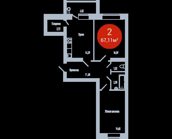 Квартира №105
