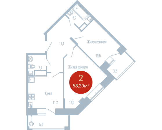 Квартира №195