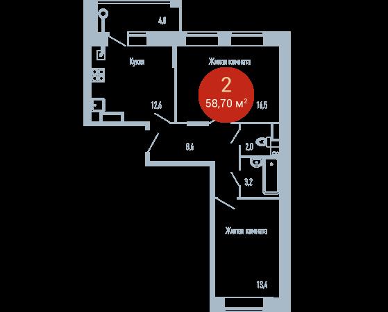 Квартира №96