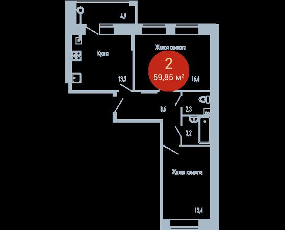 Квартира №224