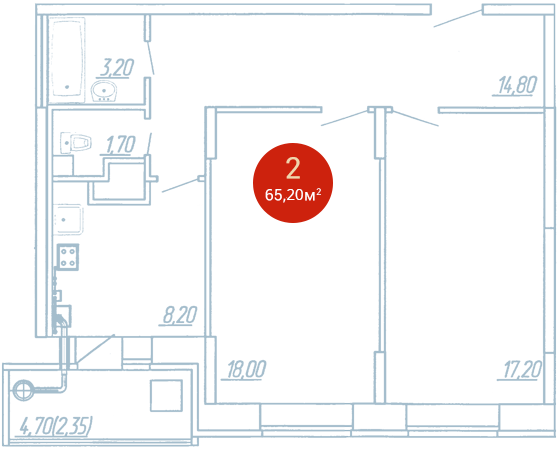Квартира №147